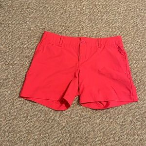 Under Armour Bright coral shorts